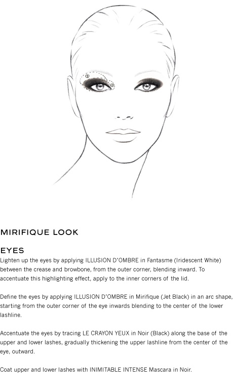 Look Mirifique n°86, Illusion d'Ombre