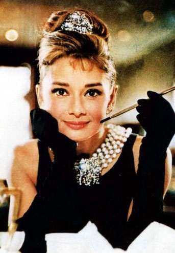 Audrey Breakfast at Tiffany's