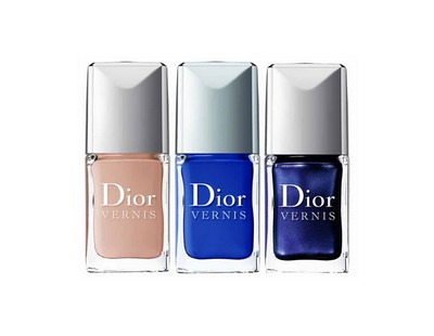 Vernis Dior collection Blue-Tie 2011
