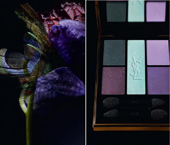 Yves Saint Laurent, palette Jardin de Minuit, automne 2011