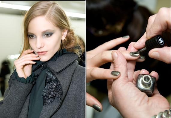 Make up défilé Chanel