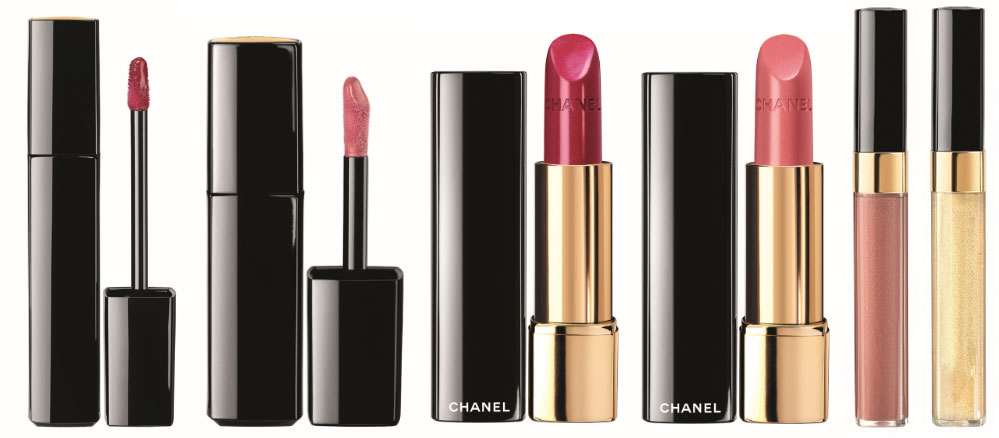 Chanel Les Scintillances rouges et gloss