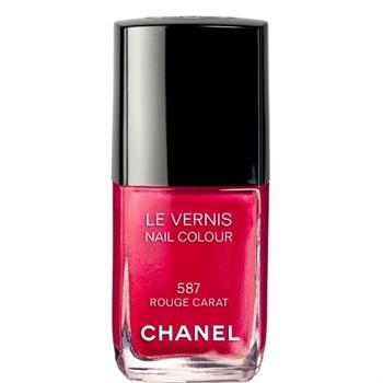Chanel vernis Rouge Carat n°587
