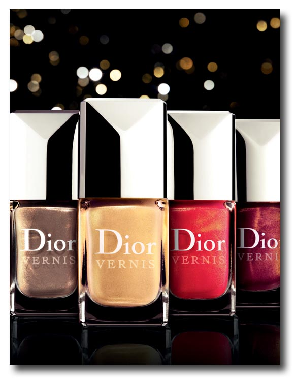 Dior Vernis les Rouges Or Noël 2011