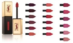 YSL Vernis à Lèvres, nouveauté 2012