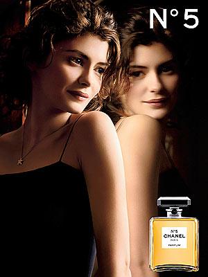 Audrey Tautou pour Chanel n°5