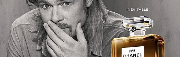 Chanel fait le buzz pour son parfum n°5 avec Brad Pitt