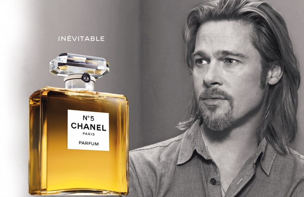 Chanel N5 Brad Pitt, 2012