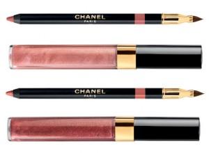 Chanel, Illusions d'Ombres crayons à lèvres et gloss